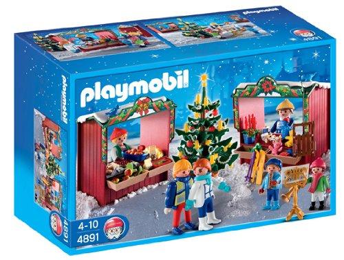 Playmobil - 4891 - Jeu de construction - Marché de Noël