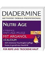 Diadermine Nutri Age Lot de 3 crèmes soin de jour anti-âge pour peaux mâtures 50 ml