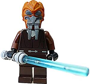 lego star wars plo koon minifigur blaues laserschwert spielzeug. Black Bedroom Furniture Sets. Home Design Ideas