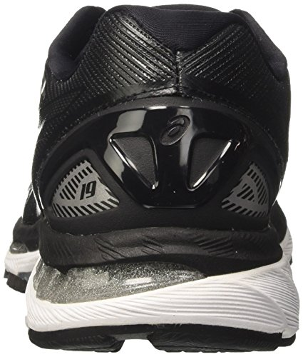 Asics Gel-Nimbus 19, Men's Running Shoes, Black (Black/Onyx/Silver), 7 UK (41.5 EU)