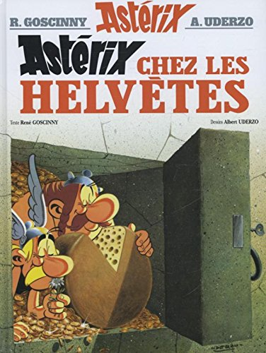 Asterix in French: Asterix chez les Helvetes