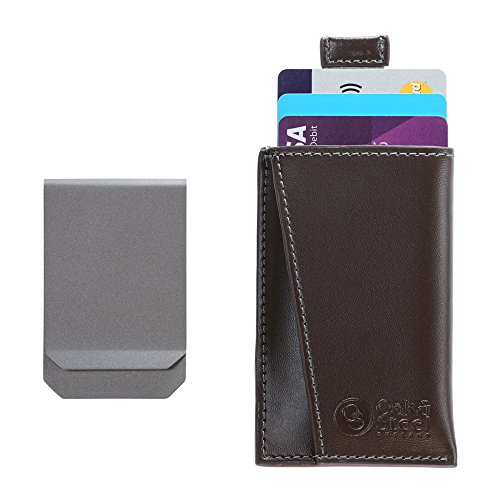 oak-and-steel-genuine-leather-compact-money-clip-wallet-card-case-secure-rfid-blocking-brown