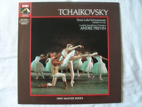 EG 290305 Tchaikovsky Swan Lake LSO Andre Previn LP