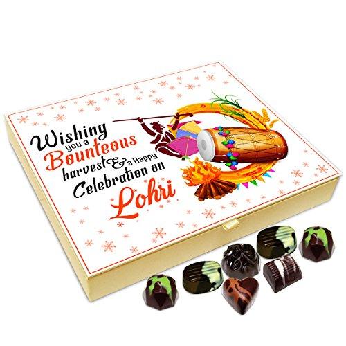 Chocholik Lohri Gift Box - Wishing You A Bounteous Harvest On Lohri Chocolate Box - 20Pc