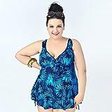 MEIXI-Plaque acier-ladies plus taille imprimé maillots de bain