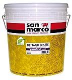 Grassello di calce stucco veneziano .San Marco confezione da 25 kg. Bianco colorabile con coloranti universali. Prodotto decorativo per pareti . Effetto stucco veneziano , marmorino lucido