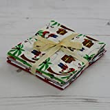 Fat Quarter Stoffpaket Piraten 6 Stoffe 45,7 x 55,9 cm