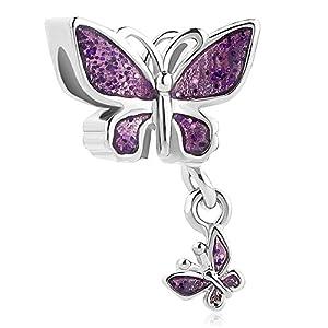korliya Schmetterling Charm Bead für Armband