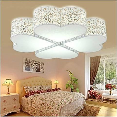 LYXG Quadrati di luce a soffitto a forma di cuore studio lampade camera bambini soggiorno lampada luce