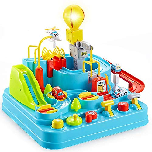Yyz Track Serie Auto Shaoguan großes Abenteuer Track Auto Musik Beleuchtung Kinder Lernspielzeug Geburtstagsgeschenk - Serie-track-beleuchtung