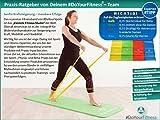 4er-Set Fitnessbänder »Lavana« / Sportband, Trainingsband in den Farben und Stärken gelb 0,35 leicht / grün 0,45 mittel / rot 0,55 kräftig / blau 0,75 stark - 2