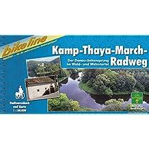 Kamp - Thaya - March Radweg (Bikeline Radtourenbücher)