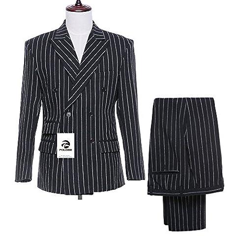 FOLOBE - Costume - Homme - noir - L