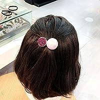 WWF Haar Zubehör Super Flash Hervorgehoben Diamant Perle Haarbänder Haare Seil Sehnen Erwachsene Ms Perle Haare Seil