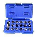 Zurückgreifen auf bougie von Rethreading Kit Set Reparatur von Gewinde M14 x 1,25 16PC