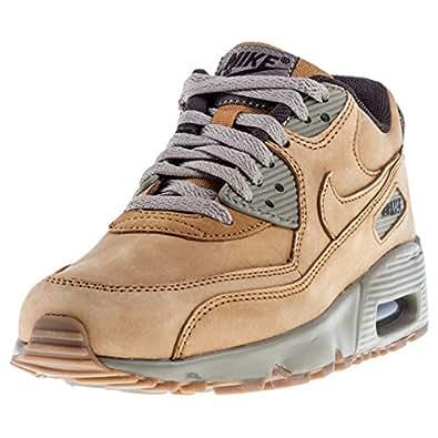 Nike Air Max 90 GS 943747-700, Baskets Mixte Enfant, Mehrfarbig (Beige 001), 40 EU