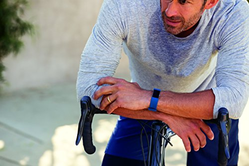 Fitbit Charge 2 Activity Tracker with Wrist Based Heart Rate Monitor – Blue/Large