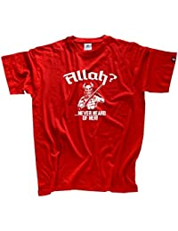 Viking Shirts - Allah never heard of her Wikinger Germanen T-Shirt