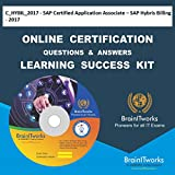 C_HYBIL_2017 - SAP Certified Application Associate – SAP Hybris Billing - 2017 Online Certification Video Learning Made Easy