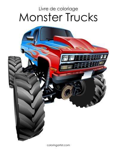 Livre de coloriage Monster Trucks 2 par Nick Snels
