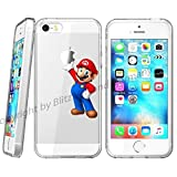blitz versand germany Disney Comic Schutz Hülle Transparent TPU Cartoon Super Mario M13 Samsung Galaxy S5 Mini