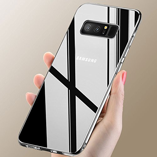 vitutech Samsung Galaxy Note 8 Handyhülle, Note 8 Hülle TPU Schutzhülle Anti-Scratch Galaxy Note 8 Case Cover Bumper Case Weiche Silikon Schutzhülle für Galaxy Note8 - Transparent