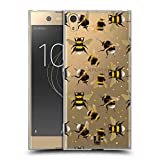 Head Case Designs Pattern Bees Soft Gel Case for Sony