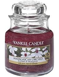Yankee Candle 1344791E Bougie senteur Orchidée de Madagascar en jarre Rouge