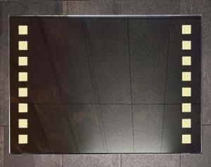 Miroir salle de bains avec flash LED 90x65 cm