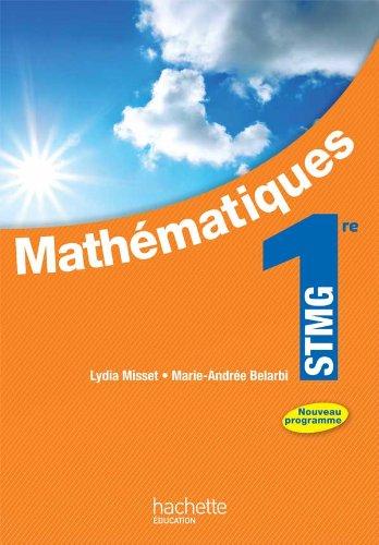 Mathématiques 1re STMG - Livre élève ...