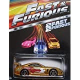 HOT WHEELS 2015 FAST AND FURIOUS RELEASE EXCLUSIVE GOLD 94 TOYOTA SUPRA #2/
