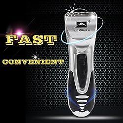 Men Electric Shaver Male Beard Trimmer 6pcs/Set Razor Hair Body Groomer
