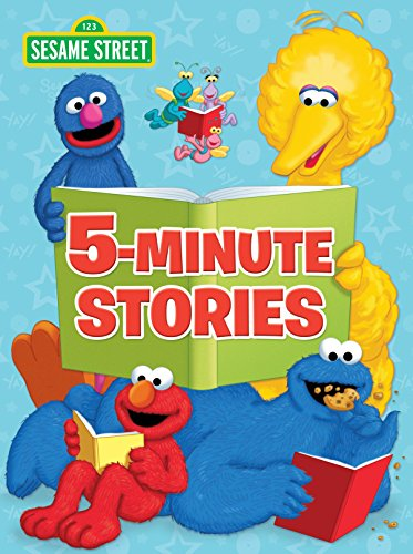Sesame Street 5-Minute Stories (Sesame Street) (Cookie 5 Sesame Street)