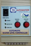 #3: Fully Automatic Water Level Controller for tank with level indicator with semi auto option and good quality sensors for long life