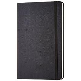 AmazonBasics – Taccuino classico, misura grande, pagine bianche
