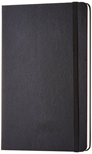AmazonBasics Classic Plain Notebook – Large, 240 Pages