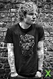 Ed Sheeran - Skull - Musik Poster Plakat Druck - Größe 61x91,5 cm + 1 Packung tesa Powerstrips® - Inhalt 20 Stück