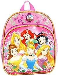 Preisvergleich für Disney 103132 Mini-Rucksack, Prinzessinnen-Design, 25,4 cm, Rosa