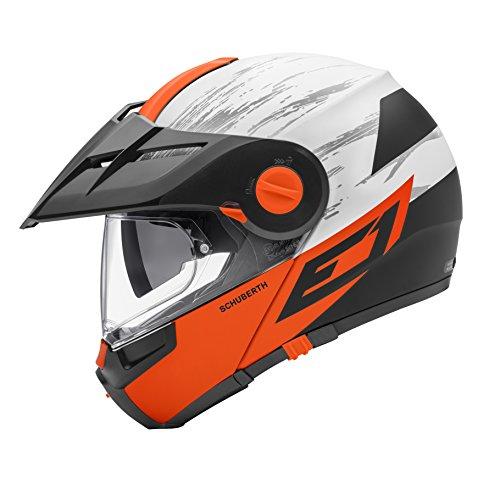 Crossfire arancione E1 2017 Schuberth casco