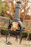 Oxford Barbecues La Hacienda Großer Grill-Kamin aus Stahl