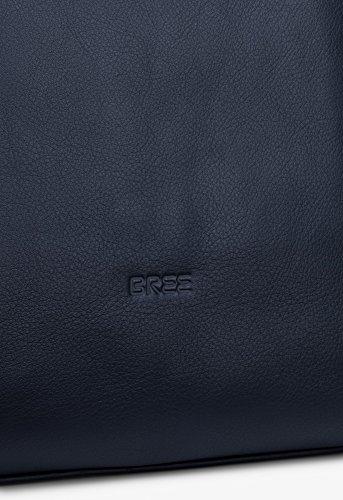 BREE, Borsetta da polso donna Grigio ardesia 30 cm x 32 cm x 14 cm (B x H x T) blu navy