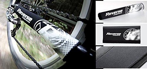Reverse Neopren Kettenstrebenschutz schwarz