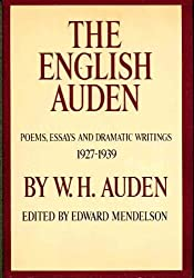 The English Auden by W. H. Auden (1978-01-12)