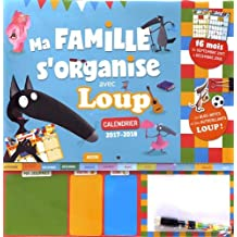 Calendrier Ma famille s'organise avec loup