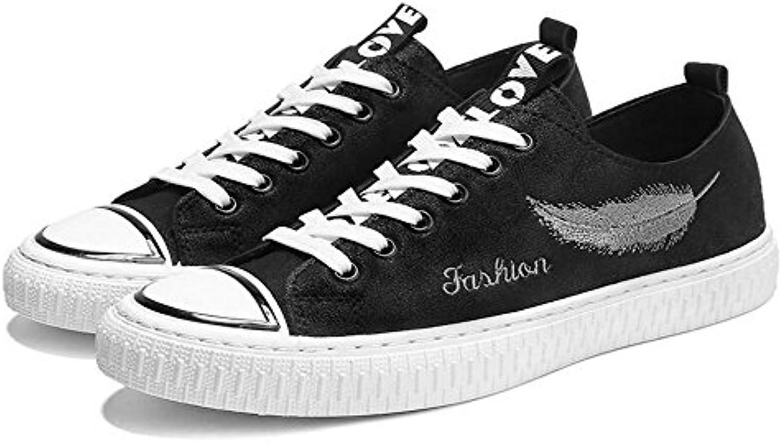 Herrenschuhe Leinwand Fruumlhjahr Herbst Fahren Schuhe Comfort Sneakers Split Joint fuumlr Casual Office Karriere Outdoor Schuhe