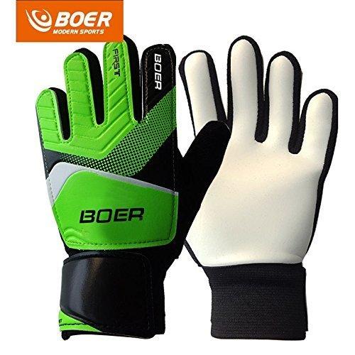 Boer 5-7# Children Kids Youth Football Soccer Goalkeeper Goalie Training Gloves Gear