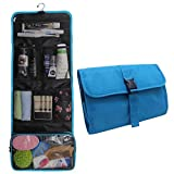 Hanging Toiletry Bag Travel Kit for Men and Women Waterproof Wash Bag Compact