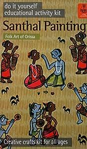 Buy potli diy indian art kit santhal painting multi color online at potli diy indian art kit santhal painting multi color solutioingenieria Images