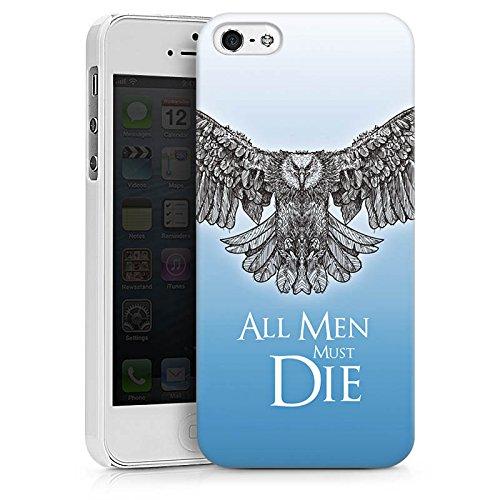 Apple iPhone X Silikon Hülle Case Schutzhülle GOT Statement Game of Thrones Hard Case weiß