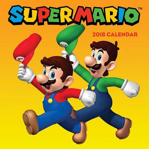 Preisvergleich Produktbild Super Mario (TM) 2018 Wall Calendar (Calendars 2018)